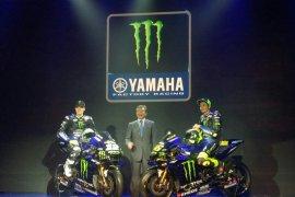 """Rossi dan Vinales kenalkan """"livery"""" baru Yamaha YZR-M1 di Jakarta"""