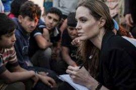 Angelina Jolie kunjungi kamp pengungsi  Burkina Faso sebagai utusan PBB