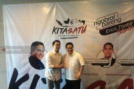 Erick Thohir Semangati Milenial di Surabaya Untuk Tetap Optimistis