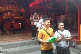 Vihara Dhanagun Bogor jadi tempat wisata