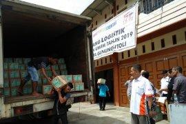 KPU Gunungsitoli sudah terima surat suara pemilu