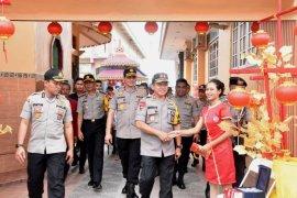 Kapolda Jambi cek pengamanan perayaan Imlek