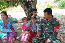 Bocah Cilik Di Penajam Ingin Menjadi Prajurit TNI