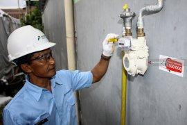 Empat kelurahan di Probolinggo mulai menikmati jaringan gas