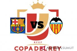 Usai bumgkam Betis, Valencia tantang Barcelona di final Copa del Rey