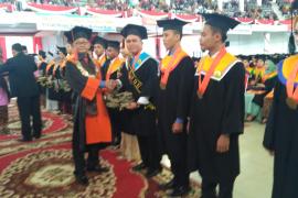 Wisuda Universitas Jambi luluskan 1.125 mahasiswa
