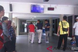 Sejumlah penerbangan di Belitung terganggu karena landasan pacu rusak