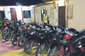 Polisi amankan 21 pebalap liar di Simalungun