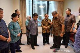 Jusuf Kalla sampaikan doa kesembuhan Ani Yudhoyono