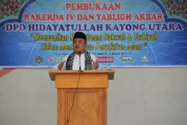 Wabup harapkan ide sinergi Hidayatullah untuk pembangunan Kayong Utara