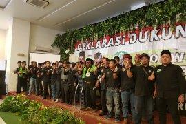 FBR Bekasi deklarasi dukung Jokowi (Video)