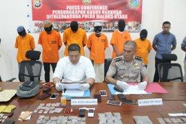 Ditresnarkoba bekuk pengedar narkoba di Maluku Utara