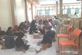 KPU Bengkayang mulai lakukan pelipatan surat suara