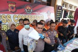 Polresta Cirebon ciduk pengedar narkoba jaringan lapas