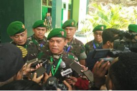 Pandam: 600 prajurit TNI akan disebar disepanjang jalan trans Papua