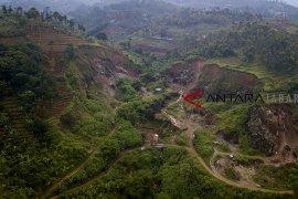 Kerusakan alam kawasan Bandung utara