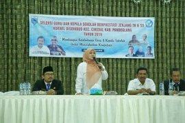 Bupati Pandeglang minta kepala sekolah dan guru profesional