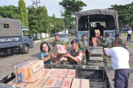 Lantamal V berangkatkan 1 SST satgas banjir ke Madiun