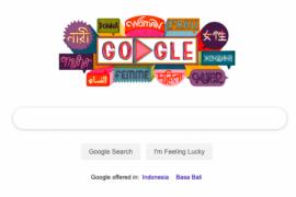 Hari ini Google Doodle rayakan Hari Perempuan Sedunia