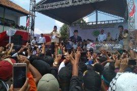 Prabowo dan Sandiaga Uno temui pendukungnya di Garut
