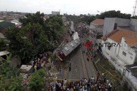 Kecelakaan KRL di Bogor
