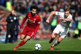 Liverpool tempel ketat City di klasemen usai menang 4-2 atas Burnley