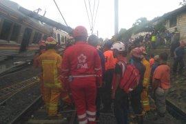 RS PMI Bogor rawat korban KRL anjlok
