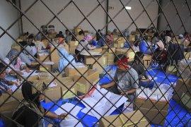 Pelipatan surat suara di Kabupaten Sukabumi
