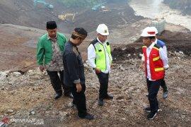Pembangunan Terowongan Nanjung sudah mencapai 80 persen