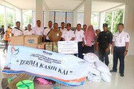 KAI Daop 7 salurkan bantuan untuk korban banjir di Madiun