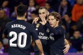 Dua gol Valladolid dianulir VAR, Madrid menang 4-1