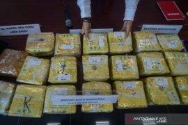 """BNNP Jawa Barat gagalkan penyelundupan 20 kg """"shabu-shabu"""""""
