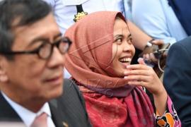 Siti Aisyah bebas dari dakwaan pembunuhan kakak Kim Jong-un