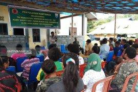 TMMD 104-Polres Manokwari ajak warga bangun sistem keamanan Kampung