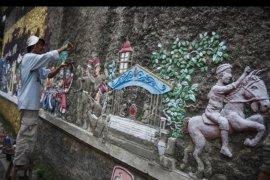 Relief sejarah Kerajaan Mataram