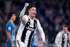 Ronaldo hattrick, Juventus lunasi defisit dan singkirkan Atletico