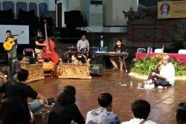 "Djaduk Ferianto ""provokasi"" mahasiswa ISI Denpasar berani bermusik"