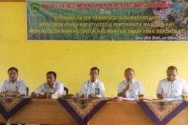 DPMPD Bahas Rencana Pelatihan KPMD Di Desa Batu Butok
