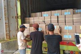 KPU Bengkulu terima 1,2 juta surat suara