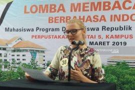 Puluhan mahasiswa asing ikuti lomba baca berita berbahasa Indonesia