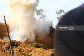 Kapolda Sumut saksikan peledakan sisa bom Sibolga