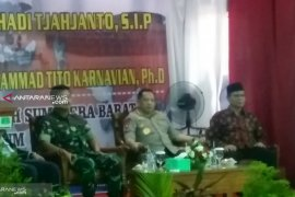 Panglima TNI dan Kapolri orasi kebangsaan di  Universitas Muhammadiyah Sumatera Barat,