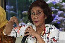 Menteri Susi: Efek jera solusi pemberantasan pencurian ikan