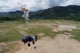 Polres Tapteng backup peledakan sisa bom Sibolga