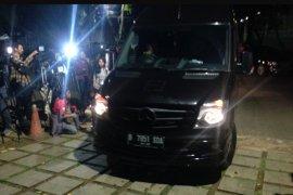 AHY sambangi kediaman Prabowo di Kertanegara
