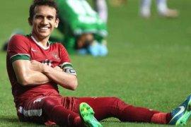 Babak pertama, Timnas U-22 Indonesia imbang 1-1 dengan Arab Saudi