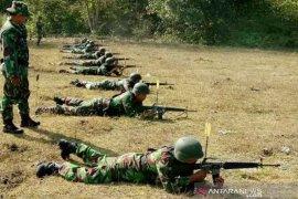 Jaga kemampuan prajurit Kodim Aceh Utara latihan menembak