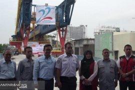 Wika Beton rampungkan proyek rel layang kereta api Medan - Bandara Kualanamu