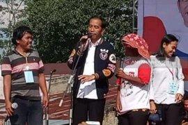 Mampu raih 97 persen suara di Pilpres, Jokowi janji kembali kunjungi Tapanuli dan Simalungun