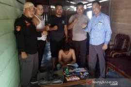 Polsek Air Gegas ringkus pengedar narkoba
